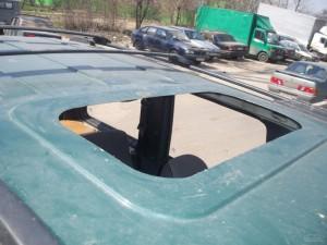 Как сделать люк на крышу автомобиля своими руками 50